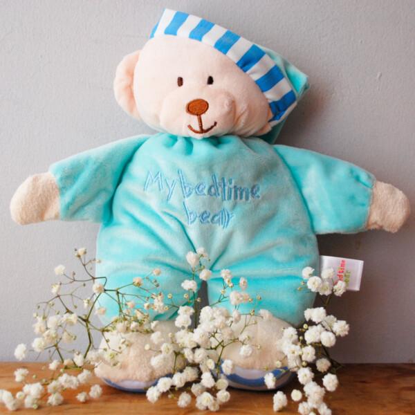Peluche My Bed Time Bear Celeste